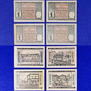 Germany 1922, 4x2 Mark AU Banknote