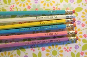 Fearless Motivational 2 HB Pencil Set