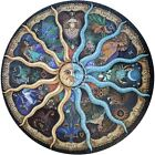 Round Jigsaw Puzzle Educational Game Constellation Large 26 Inch 1000 Pieces