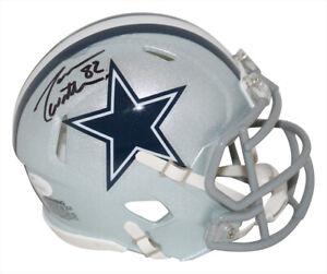 Jason Witten Autographed/Signed Dallas Cowboys Speed Mini Helmet JSA 32655