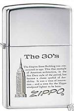 Zippo 7883 empire state building 30s DISCONTINUED - Rare Lighter
