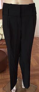 TEENFLO by MAURICE TARICA ( Paris)  Women's Black Wool  Pants Sz 40 New W/o Tags