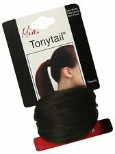 Mia Tonytail Ponytail Wrap Made Of Synthetic Wig Hair On An Elastic Rubber Ba...