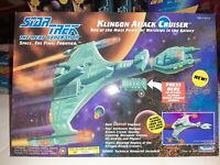Star Trek TNG Klingon Attack Cruiser Playmates NIB 1993 SEALED NRFB
