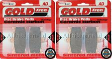 Suzuki SV 1000 K3 (2003) SV1000 > Sinterizado Delantero Pastillas De Freno (2 Par) * GOLDFREN *