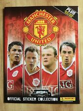Panini Manchester United 2006/2007 Sticker Album Inc Poster - Incomplete