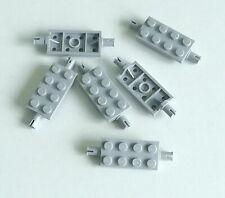 LEGO 4 X PIASTRA 3958 NUOVO GRIGIO CHIARO 6x6