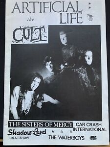 Artificial Life 11 Punk Fanzine The Cult Sisters of Mercy