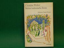 Buch Meine italienische Reise Christine Wolter 1. Auflage 1972