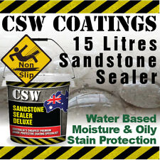 15L Sandstone Sealer - Moisture & Oily Stain Protection - Non Slip - Water Based
