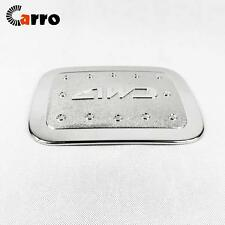 Chrome Fuel Tank Covers Plastic Gas Cap 4WD for Toyota Land Cruise 2016