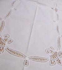 Vintage Tablecloth Buttenburg Lace Handmade Antique Wedding Tablecloth Tea Party