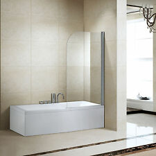 180° Frameless Shower Door Corner Room Screen Pivot Tempered Glass Bathroom CA