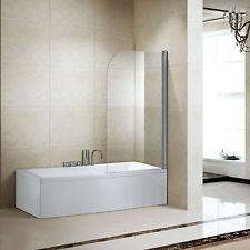 180° Frameless Shower Door Corner Room Screen Pivot Tempered Glass Bathroom CA