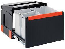 FRANKE Sorter Cube 50 / Automatikauszug Abfalltrennsystem / 1 x 14 l / 2 x 8 l B