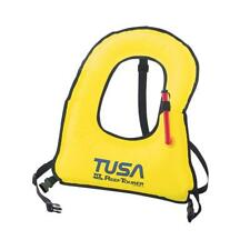 TUSA Junior Size Horse Collar Style Oral Inflate Snorkeling Life Vest