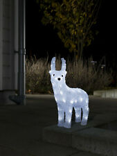 Konstsmide 6139-203 LED Acryl Figur Rentier 32 LEDs Weihnachts Deko