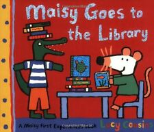 LUCY COUSINS __ MAISY GOES TO THE LIBRARY ___ BRAND NEW ___ FREEPOST UK