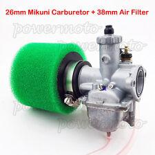 26mm Mikuni Carburetor Air Filter For Lifan YX 110cc 125cc Engine Pit Dirt Bike