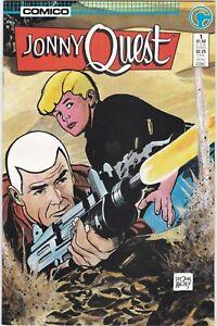 Johnny Quest #1  1986 Comico 1st Print VF/NM
