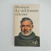 Ernest Hemingway 1976 Le vieil homme et la mer littérature roman Gallimard N5927