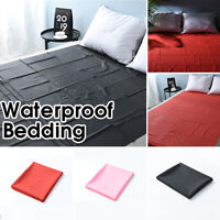 Waterproof Bed Sheet Mattress Cover Full Queen King Size Bedding Pad Protector