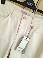 LADIES M&S LIMITED EDITION SIZE 10 LONG TAPERED LEG GIRLFRIEND JEANS FREE POST