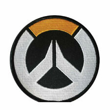 """Overwatch Logo Sew On Iron-On Embroidered Patch 3.5"""""""