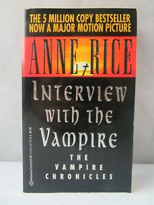 INTERVIEW WITH THE VAMPIRE BOOK by Anne Rice