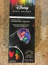 Disney Magic Holiday Mickey Mouse LED Projection Spotlight Multicolor Christmas