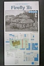 Dragon 1/35 Scale Firefly Vc Decals,Directions & PE  from Kit No. 6182