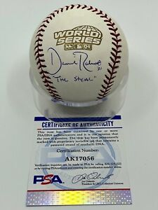 Dave Roberts The Steal Signed Autograph OMLB 2004 World Series Baseball PSA DNA