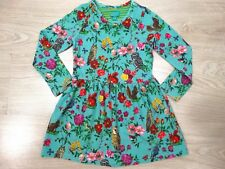 Room Seven Oilily Designer Girls Winter Owl Floral Dress Blue Age 2-3 Size 3