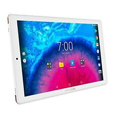 Archos Core 101 3G 32GB Tablet-PC 10,1 Zoll HD IPS-Display Android 7.0 weiß/rot