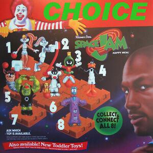 1996 McDonalds - SPACE JAM - *CHOICE* *MIP* Looney Tunes, Jordan