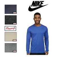 SALE NEW THE Nike Tee Athletic Cut DRY FIT Long Sleeve VARIETY SIZE/COLOR - B33