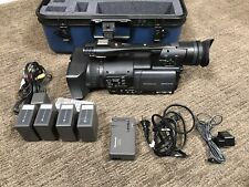 Panasonic Ag-Hmc150 Avc Camcorder w/ Hard Case & Accessories - Just 54 Hours Use