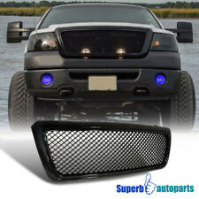 For 2004-2008 Ford F150 ABS Hood Grill Honeycomb Grille Black