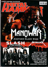 METAL HAMMER 6/2012 MANOWAR SLASH METALLICA PINO SCOTTO KREATOR CANDLEMASS LORDI