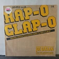 "Joe Bataan & The Mestizo Band – Rap-O Clap-O (Vinyl 12"", Maxi 33 Tours)"