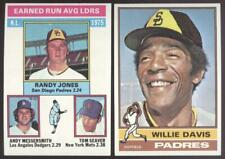 1976 Topps Baseball - You Pick Numbers #201 - #400 - Sharp - Nmmt