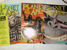 Planet of the Apes set #1,#2,#3 (Adventure/Malibu 1990) FINE or better