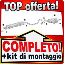 Scarico Completo OPEL ZAFIRA A 1.6 1.8 2.2 Marmitta 381