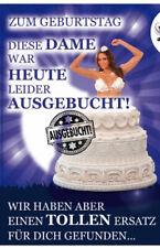 Geburtstagskarte mit Musik & Licht -