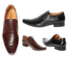 Herren-Business-Schuhe mit Spitze-Slipper aus Synthetik