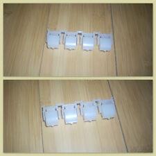 Korg KARMA set of 4 white buttons Perfect Condition…rare Worldwide Shipping OK !