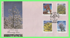 India 1981 Flowering Trees set on First Day Cover