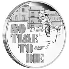 Tuvalu - 1 Dollar 2020 - James Bond 007™ - No Time To Die™ - 1 Oz Silber PP