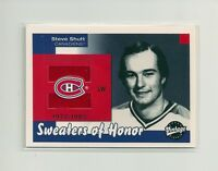 2001-02 Upper Deck Vintage Sweaters of Honor Steve Shutt