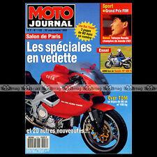 MOTO JOURNAL 1102 SUZUKI RF 600 R HONDA VFR 750 F & CANOPY GP JARAMA 1993